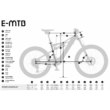 KTM MACINA CHACANA 291 Férfi Elektromos Összteleszkópos MTB Kerékpár 2021