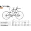 KTM MACINA SPORT 610 Férfi Elektromos Trekking Kerékpár 2021