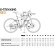 KTM MACINA TOUR P 510 denim (orange+white) Férfi Elektromos Trekking Kerékpár 2021