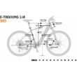 KTM MACINA SPORT 630 SILVER Férfi Elektromos Trekking Kerékpár 2022