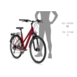 KELLYS Cristy 70 2022 női trekking kerékpár