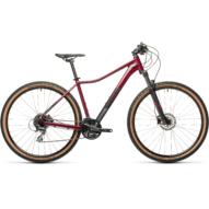 """CUBE  ACCESS WS EXC DARKBERRY´N´BLACK 29"""" Női MTB Kerékpár 2021"""