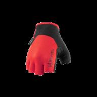 CUBE X NF Kerékpáros Kesztyű Rövid Ujjú - Red / Black