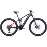 CUBE STEREO HYBRID 120 PRO 625 FLASHGREY´N´ORANGE 27.5 Férfi Elektromos Összteleszkópos MTB Kerékpár 2022