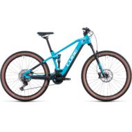 CUBE STEREO HYBRID 120 PRO 625 SKYBLUE´N´WHITE 27.5 Férfi Elektromos Összteleszkópos MTB Kerékpár 2022
