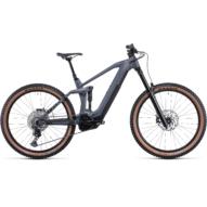 CUBE STEREO HYBRID 160 HPC RACE 625 27.5 GREY´N´METAL Férfi Elektromos Összteleszkópos Enduro MTB Kerékpár 2022