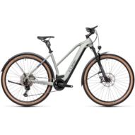 CUBE CROSS HYBRID SL 625 ALLROAD TRAPÉZ lunar´n´grey Női Elektromos Cross Trekking Kerékpár 2021