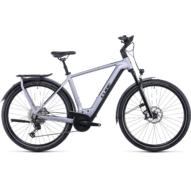 CUBE KATHMANDU HYBRID SL 750 POLARSILVER´N´BLACK Férfi Elektromos Trekking Kerékpár 2022