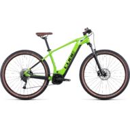 CUBE REACTION HYBRID PERFORMANCE 625 27.5 SHINYAPPLE´N´BLACK Férfi Elektromos MTB Kerékpár 2022