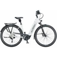 KTM MACINA TOUR CX 610 EASY ENTRY metallic white (grey+golden green) Unisex Elektromos Trekking Kerékpár 2021