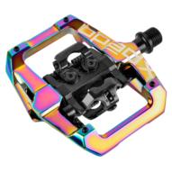 Xpedo GFX Enduró MTB Flat-SPD Pedál 2021 - Oil Slick