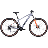 "Cube Aim Race 29"" 2022 silver'n'orange MTB kerékpár"
