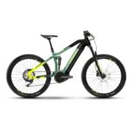"""Haibike Fullseven 6 27.5"""" Green Férfi Elektromos Összteleszkópos MTB Kerékpár 2021"""