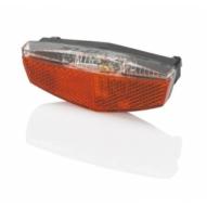 Kerékpár Lámpa hátsó, prizma, LED, csomagtartóra, állítható, akku USB CL-R19