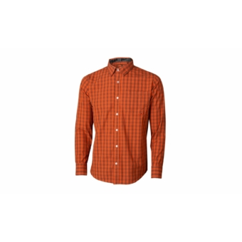 KTM Factory Team Plaid Shirt Men orange