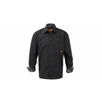 KTM Factory Team Plaid Shirt Men black