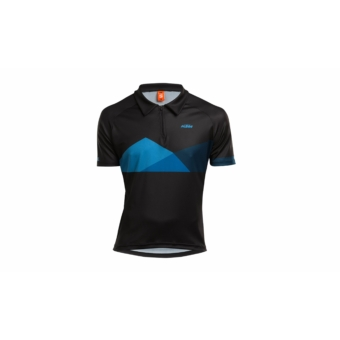 KTM Factory Character Polo shortsleeve black/blue