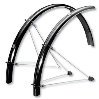 """SKS-Germany ChromoPlastics 26"""" kerékpár sárvédő szett [grafit szürke, 55]"""