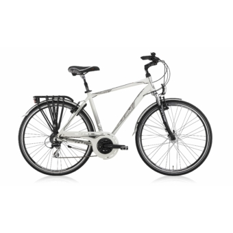 FERRINI VENUE 21S 52 fehér Agydinamóval Trekking Kerékpár