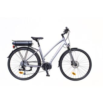 """Neuzer Menton Női ezüst/piros-szürk 18"""" Elektromos Kerékpár"""