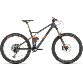 CUBE STEREO 140 HPC TM 27.5 Férfi Összteleszkópos MTB Kerékpár 2019