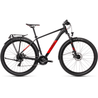 "CUBE AIM ALLROAD BLACK´N´RED 29"" Férfi MTB Kerékpár 2021"