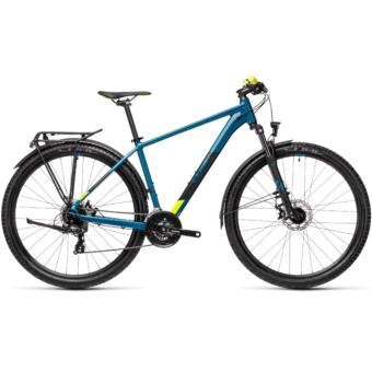"""CUBE AIM ALLROAD PINETREE´N´YELLOW 27,5"""" Férfi MTB Kerékpár 2021"""