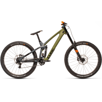 "CUBE TWO15 HPC SL OLIVE´N´GREY 29"" 2021"