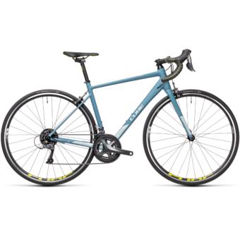 CUBE AXIAL WS Greyblue'n'Lime női országúti kerékpár2021