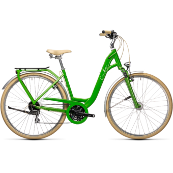 "CUBE ELLA RIDE APPLEGREEN´N´WHITE 28"" EASY ENTRY 2021"