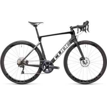 """CUBE AGREE C:62 RACE CARBON´N´WHITE 28"""" 2021"""