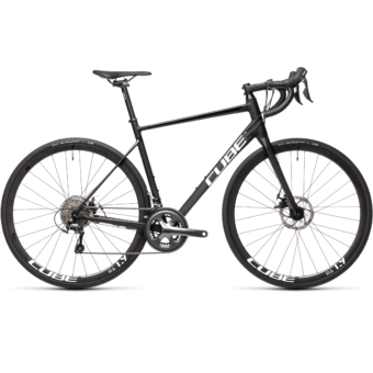"CUBE ATTAIN RACE BLACK´N´WHITE 28"" 2021"