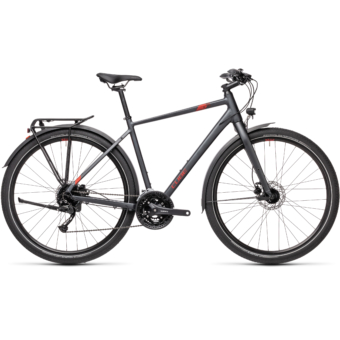 "CUBE TRAVEL IRIDIUM´N´RED 29"" 2021"