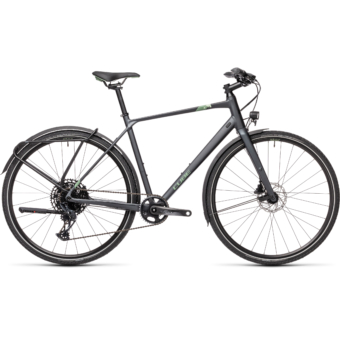 "CUBE TRAVEL SPORT IRIDIUM´N´GREEN 28"" 2021"
