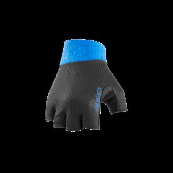 CUBE PERFORMANCE Kerékpáros Kesztyű Rövid Ujjú - Black / Blue