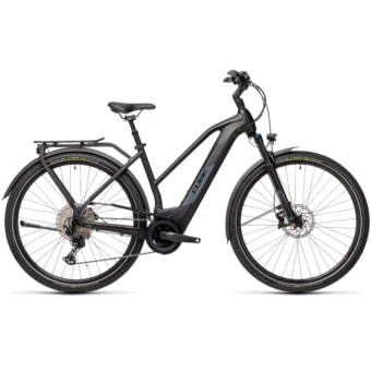 CUBE KATHMANDU HYBRID EXC 625 TRAPÉZ black´n´grey Női Elektromos Trekking Kerékpár 2021