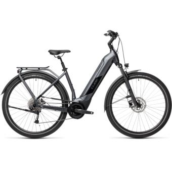 CUBE KATHMANDU HYBRID ONE 625 EASY ENTRY IRIDIUM´N´BLACK Unisex Elektromos Trekking Kerékpár 2021