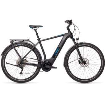 CUBE KATHMANDU HYBRID PRO 500 black´n´blue Férfi Elektromos Trekking Kerékpár 2021