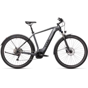 CUBE NATURE HYBRID EXC 500 ALLROAD iridium´n´black Férfi Elektromos Cross Trekking Kerékpár 2021