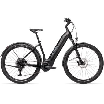 CUBE NURIDE HYBRID EXC 625 ALLROAD black´n´grey Unisex Elektromos MTB Kerékpár 2021