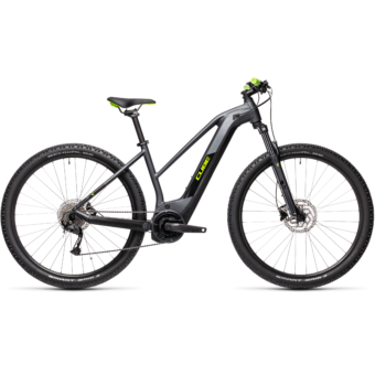 Cube Reaction Hybrid Performance 625 TRAPÉZ iridium´n´green Női Elektromos MTB Kerékpár 2021