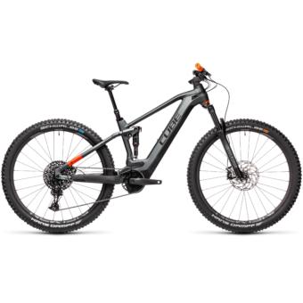 Cube Stereo Hybrid 120 TM 625 flashgrey´n´orange Férfi Elektromos Összteleszkópos MTB Kerékpár 2021