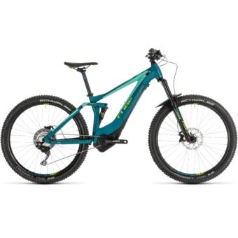 CUBE  STING HYBRID 140 Race 500 27.5 Női Elektromos Összteleszkópos MTB Kerékpár 2019