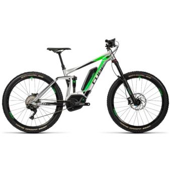 """CUBE STEREO HYBRID 160 HPA RACE 500 27.5"""" Férfi Elektromos Összteleszkópos MTB Kerékpár 2016"""
