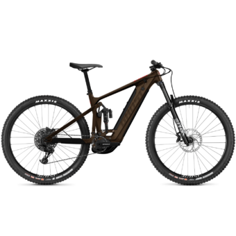 GHOST E-Riot Trail Advanced Darkchoco / Brown Férfi Elektromos Összteleszkópos Enduró MTB Kerékpár 2021