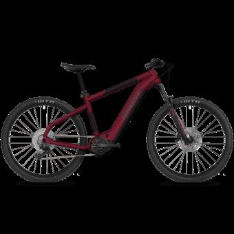 GHOST E-Teru Advanced 27,5 Dark Cherry / Midnight Black / Gray Férfi Elektromos MTB Kerékpár 2021