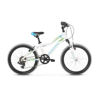 "KROSS Lea Mini 2.0 20"" white / blue / green 2021"