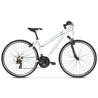 KROSS EVADO 1.0 D white / turquoise 2021