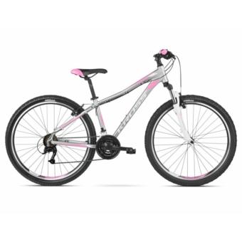 """KROSS LEA 2.0 26"""" silver / white / pink 2021"""