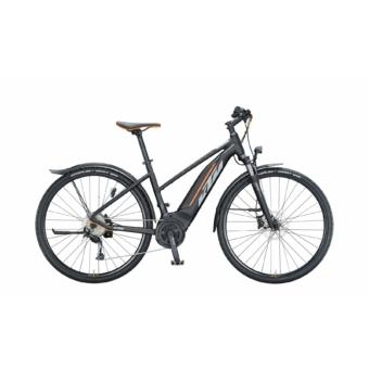 KTM MACINA CROSS P510 STREET TRAPÉZ Női Elektromos Cross Trekking Kerékpár 2021